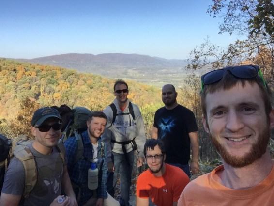 Appalachian Trail selfie