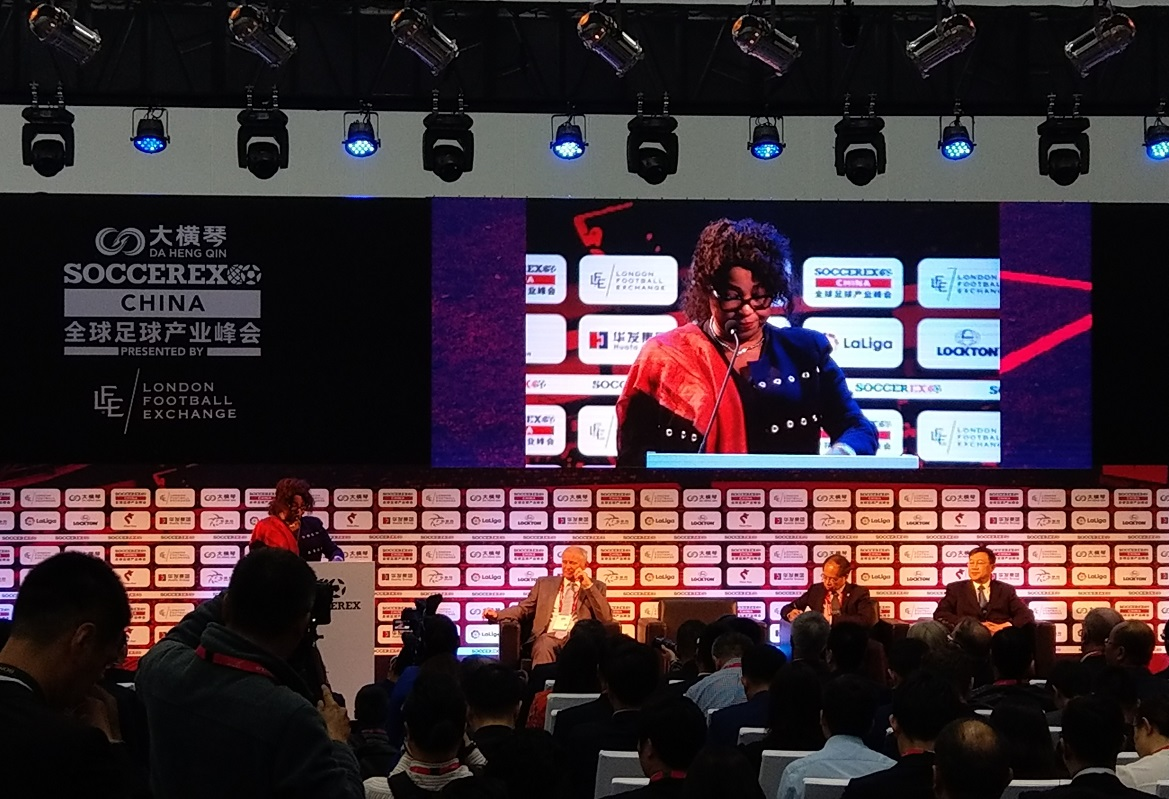 Fatma Samoura at Soccerex