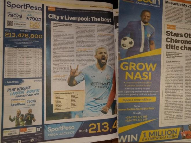Sports betting newspapers irish greyhound derby betting 2021
