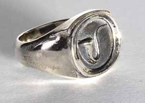 signet ring-silver-oval-a