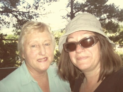 June and I, late 2009.
