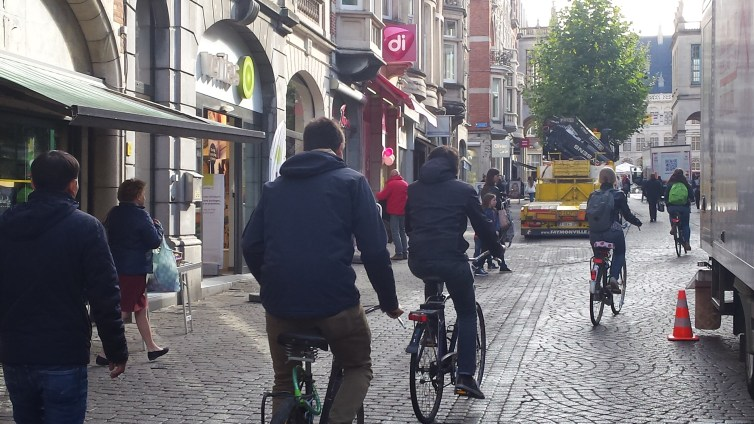 Bicyclette dans Leuven