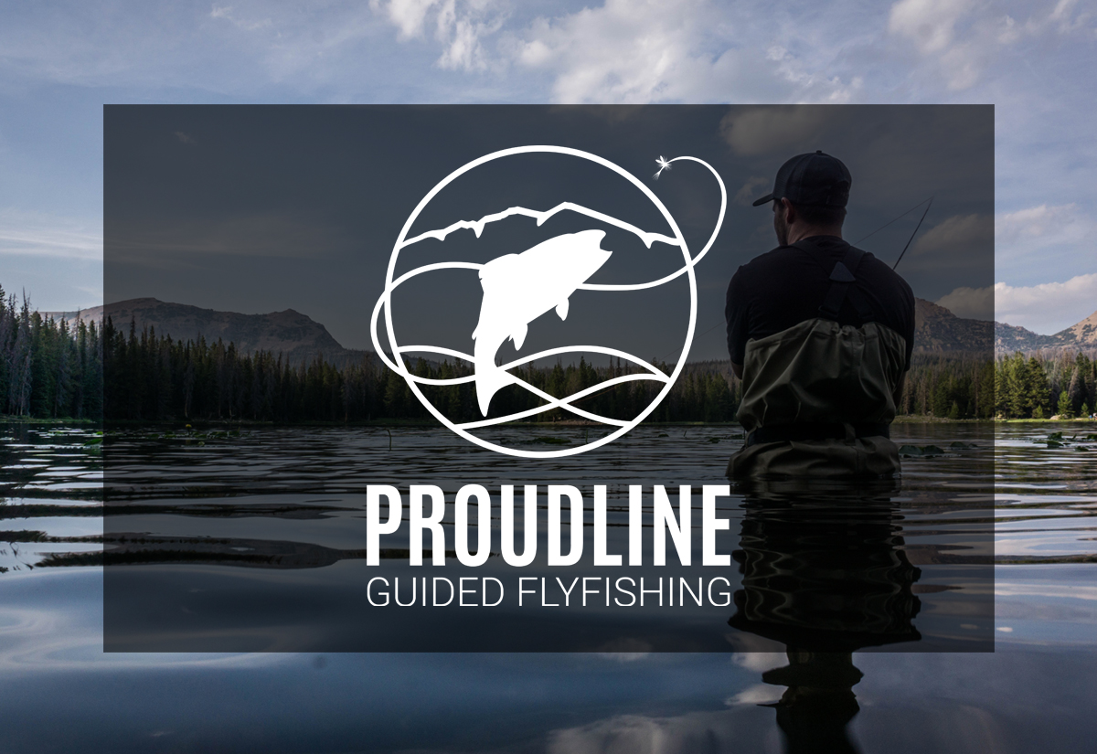 Proudline Guided Flyfishing Logo Design