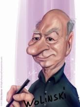 Caricature de Wolinski