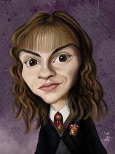 Caricature de Emma Watson
