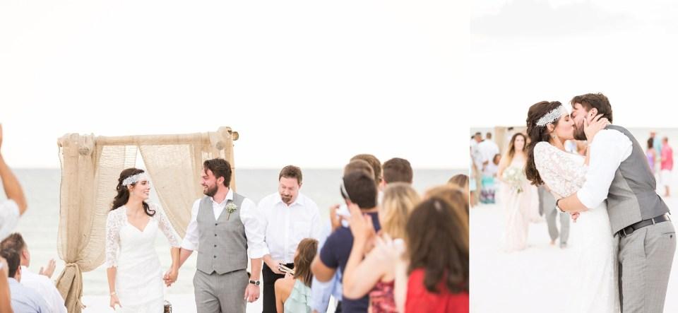 Pensacola Boho Beach Blush Wedding | Palafox Wharf | Jacksonville, FL Wedding Photographer | www.bricibene.com