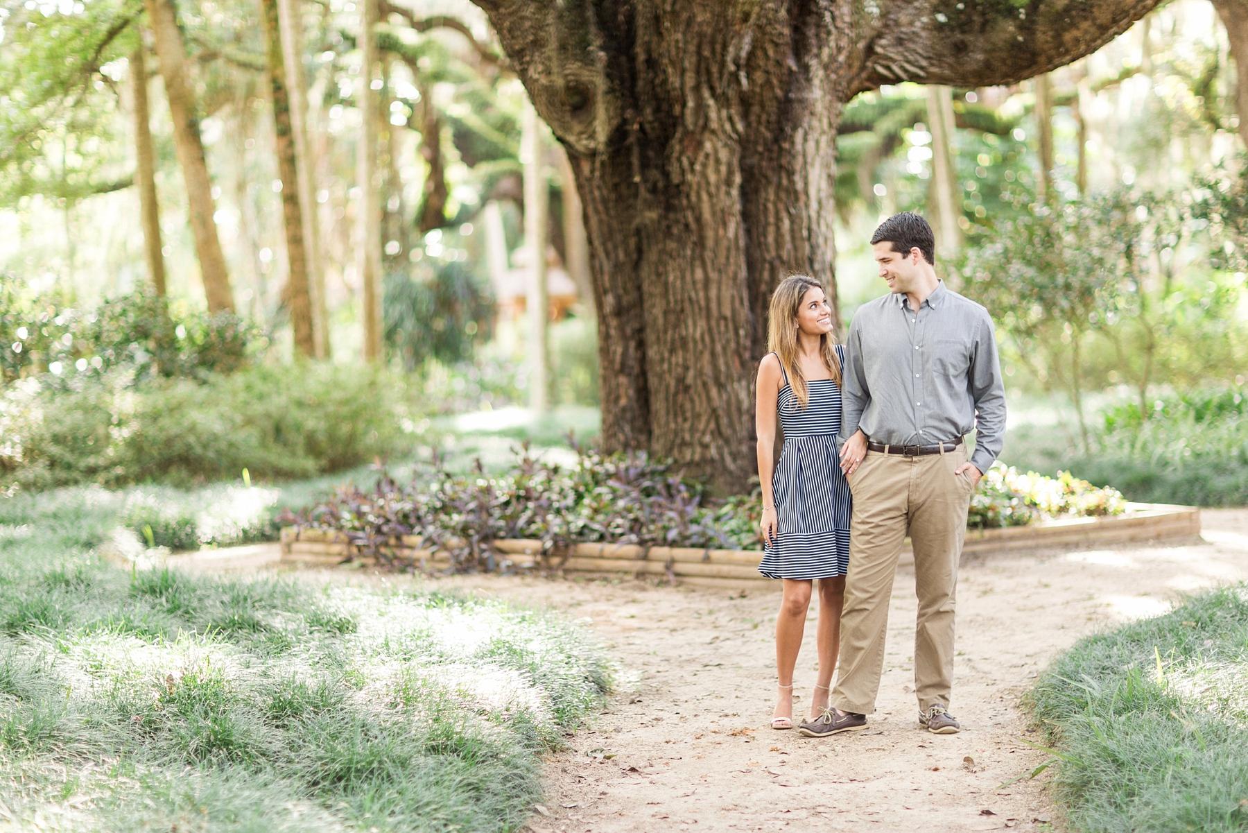 Washington Oaks Gardens Engagement Bri Cibene Photographybri Cibene Photography