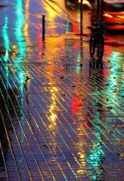 pioggia lucida