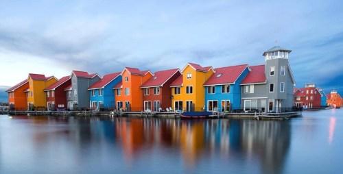 case nell'acqua