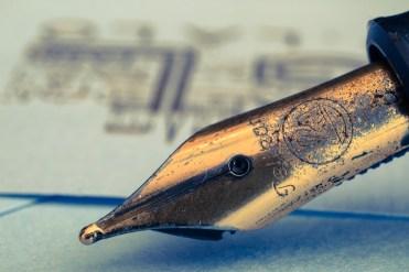 pennino di penna stilografica