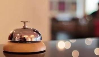 reception - albergo - campanello