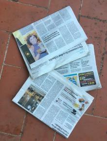 giornali - vecchi