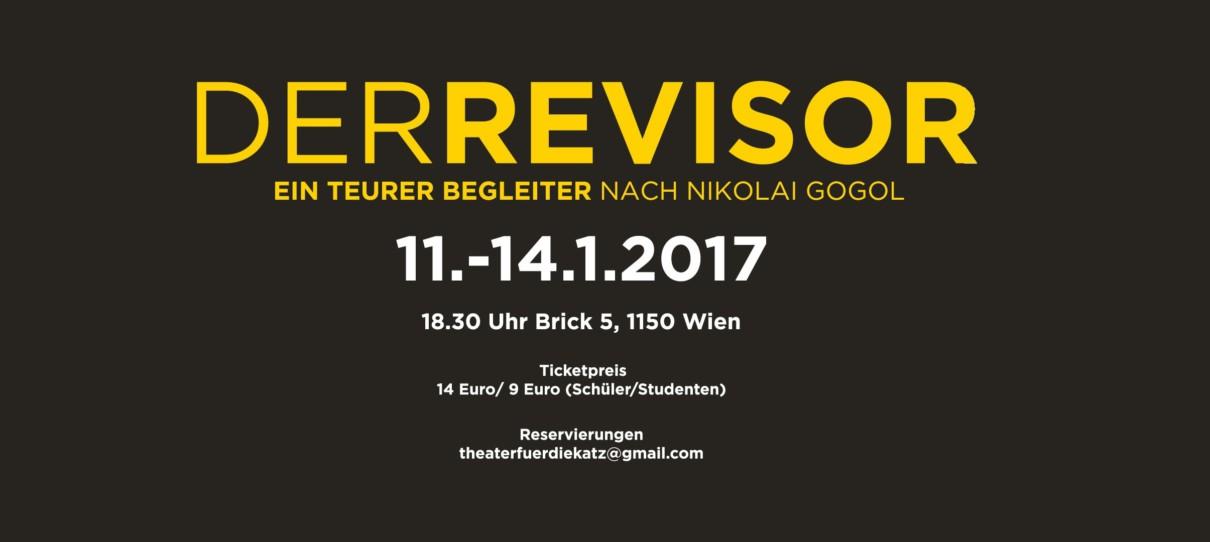 """""""Der Revisor - Ein teurer Begleiter"""" - Theater für die Katz"""