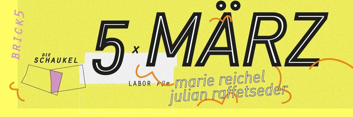 Die 2. Schaukel: Marie Reichel x Julian Raffetseder