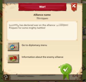 Empire: Four Kingdoms - Alliance Notification