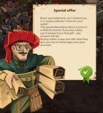 Empire: Four Kingdoms - special offers