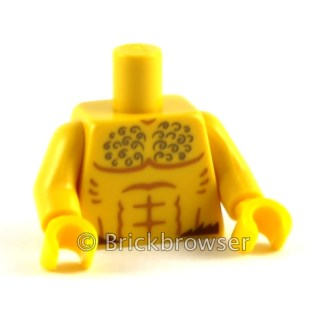 LEGO Minifig Body Upper
