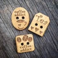 Mug Buttons – set of 3