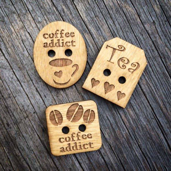 Mug Buttons – set of 3