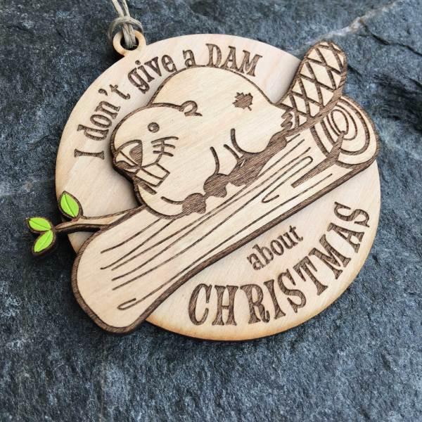 Don't Give a Dam Ornament