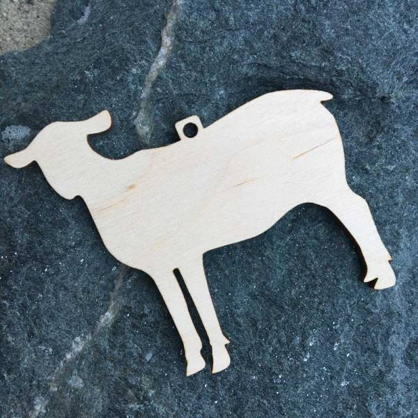 Naked Sheep Ornament