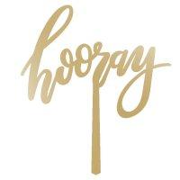 hooray-gold wood