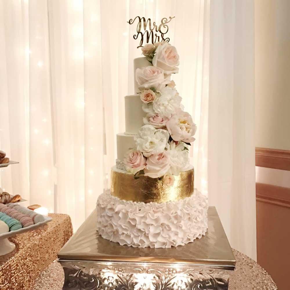 Custom wedding cake topper brickbubble junglespirit Image collections