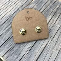 Mini Brass Skulls