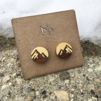 Mountain Cuff Links