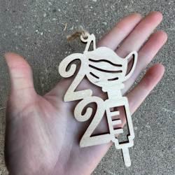 Covid 2021 ornament