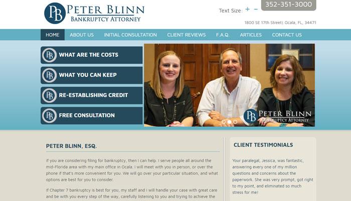 Peter Blinn - Bankruptcy Attorney