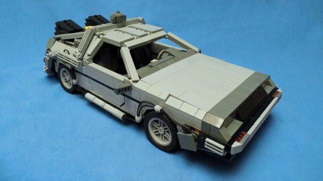 BTTF Lego Delorean