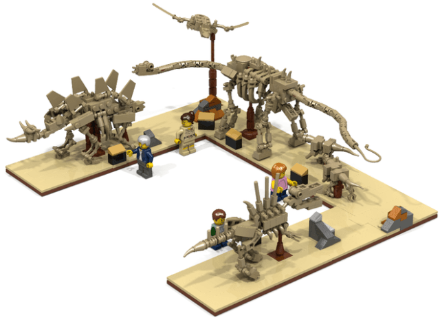 Lego Fossil Museum