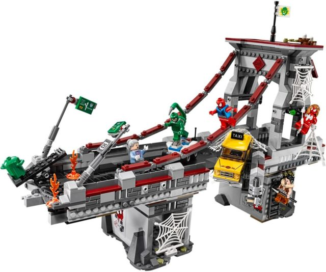 76057 Spiderman Bridge Battle