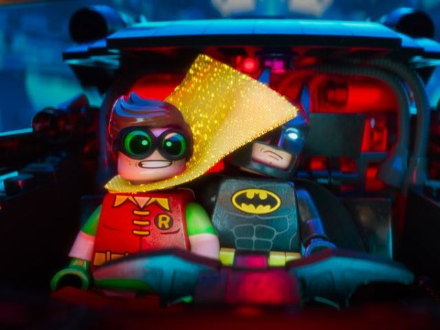 Lego Batman Movie Robin and Batman