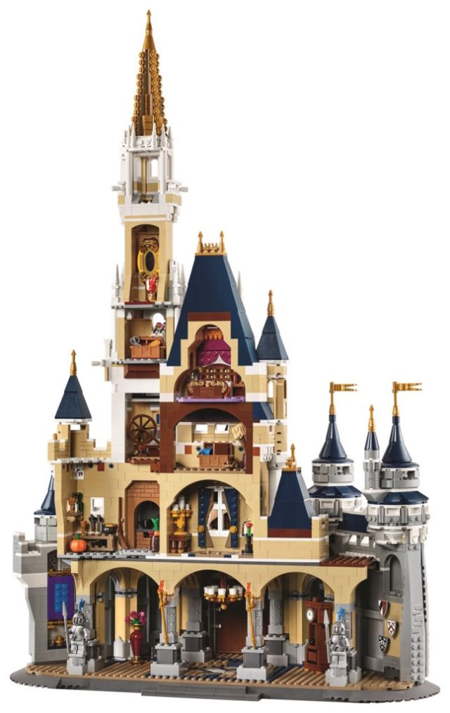 Lego Disney Cinderella Castle Back