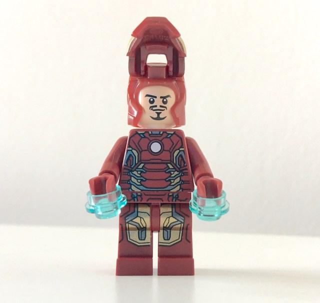Lego Iron Man Open Mask