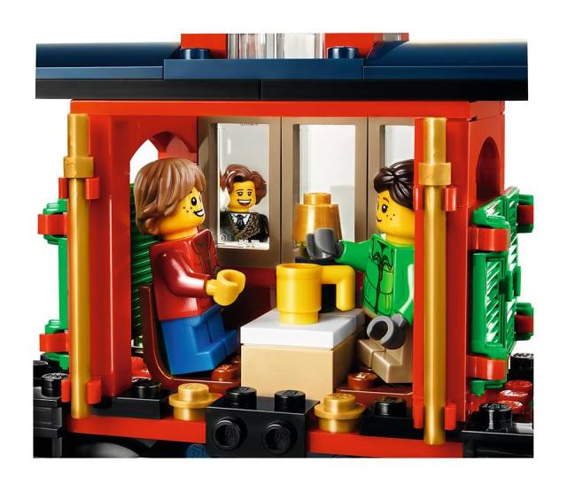 Lego Winter Holiday Train Close