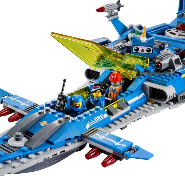 Lego Benny Spaceship Cockpit