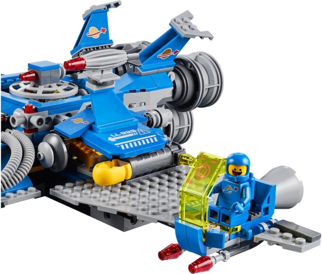 Lego Benny Spaceship Side Ship