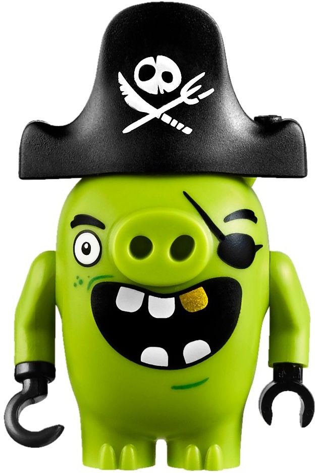 Lego Angry Birds Pirate Piggy