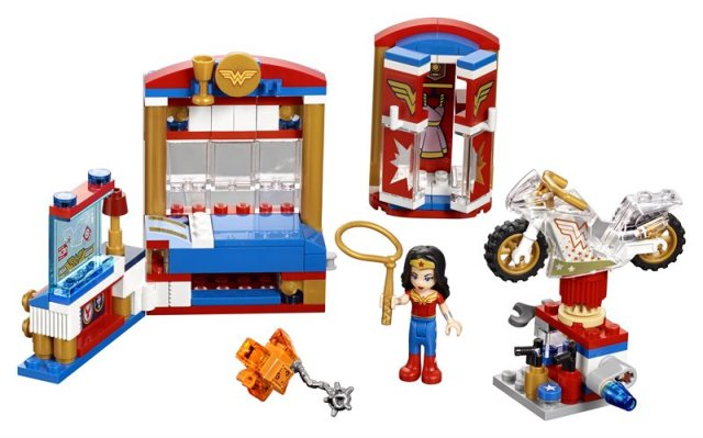 Lego Wonder Woman Dorm