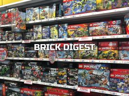Brick Digest Lego Wall