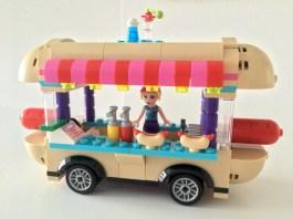 Lego Hot Dog Van Front