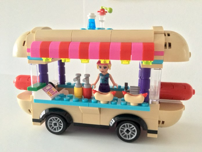 Lego Hot Dog Van Front