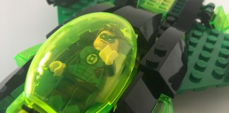 Lego Green Lantern Ship Close