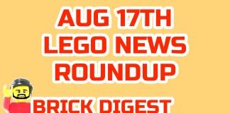 Lego News Roundup
