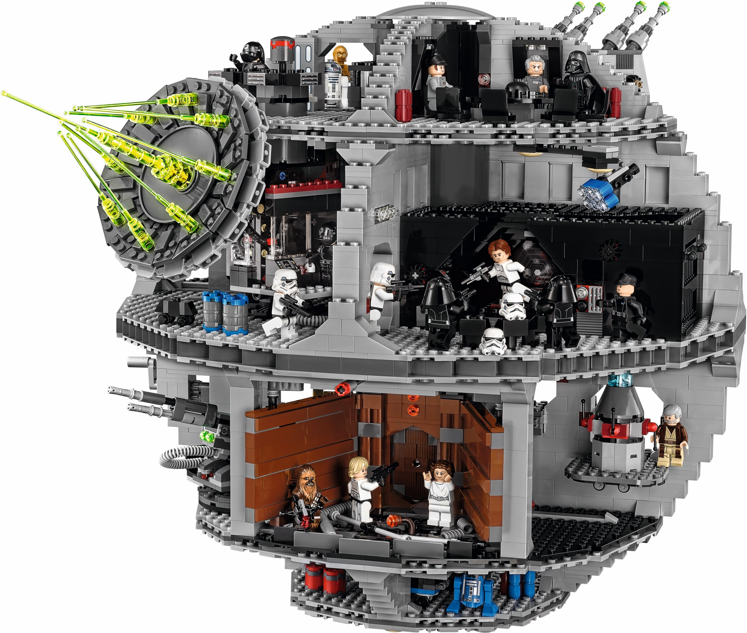 Death Star from set 75159 LEGO Star Wars Imperial Astromech Droid