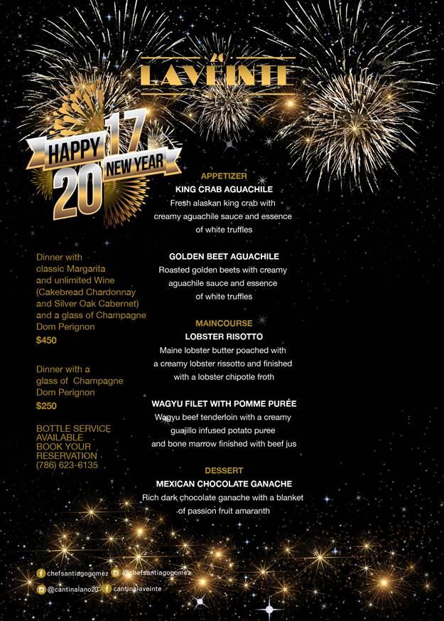 la veinte - miami new year's eve