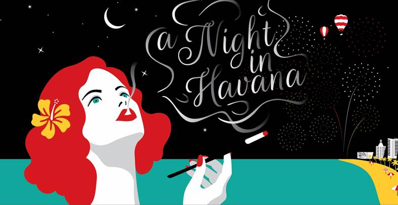 a night in havana - miami new year's eve